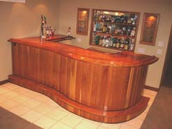 Custom Bars Woodworking By Anicas Custom Woodworks